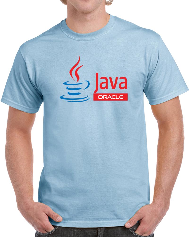 Java Oracle Logo  T Shirt