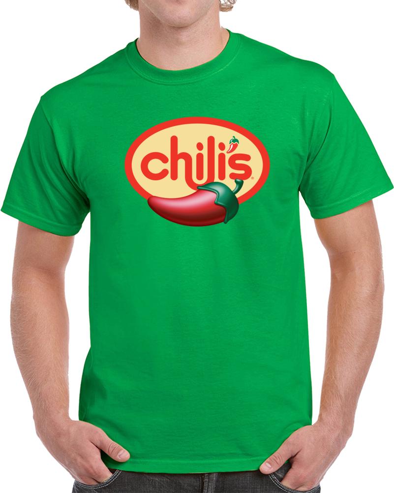 Chilis Logo  T Shirt