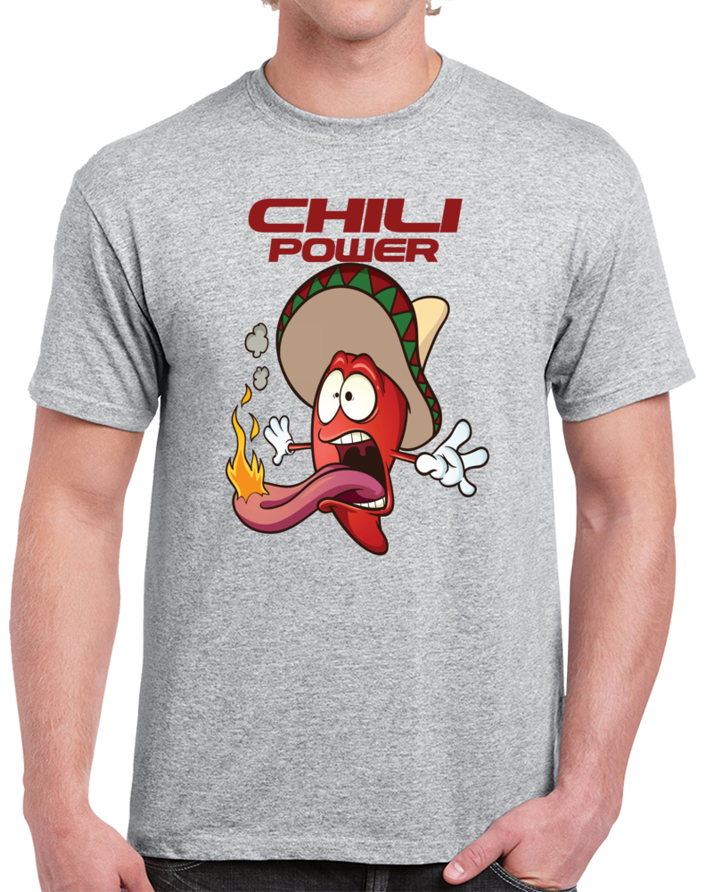 Chili Power   T Shirt