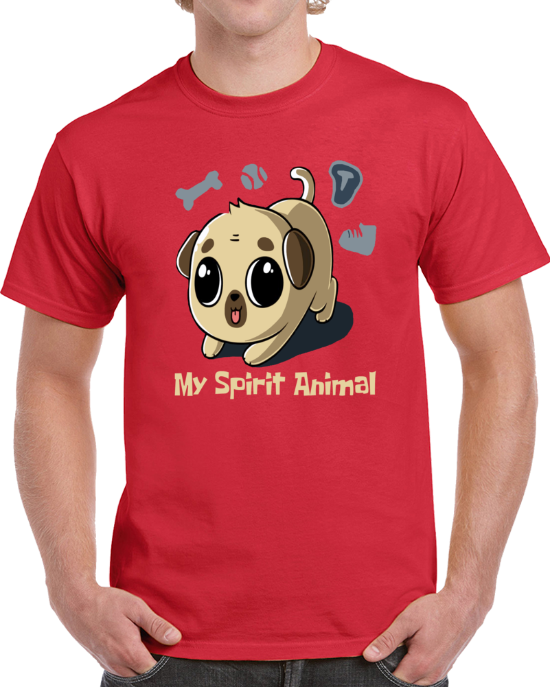 Dog My Spirit Animal  T Shirt