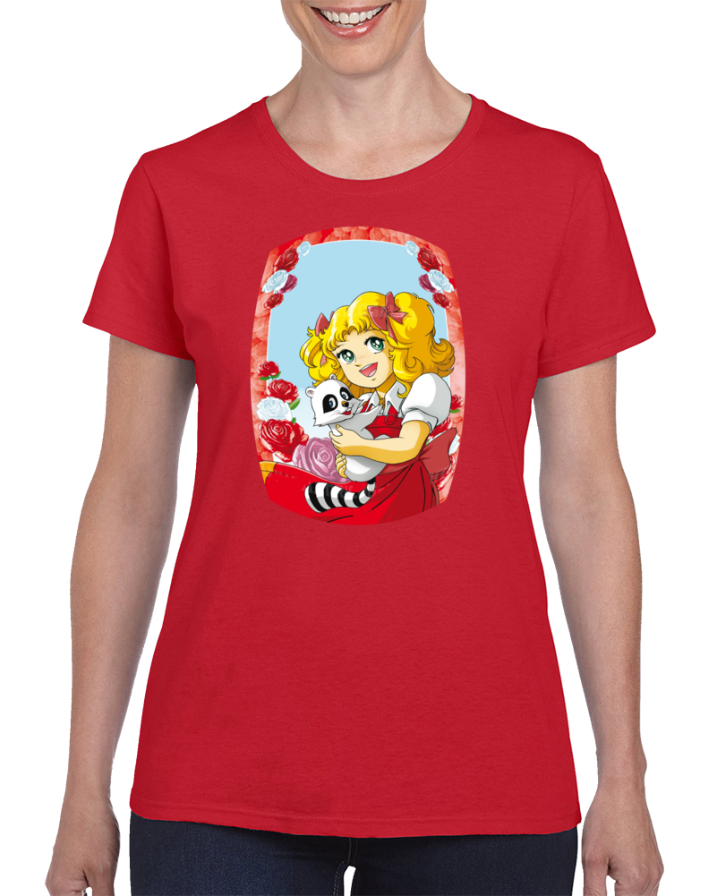 Candy And Clin Anime  T Shirt