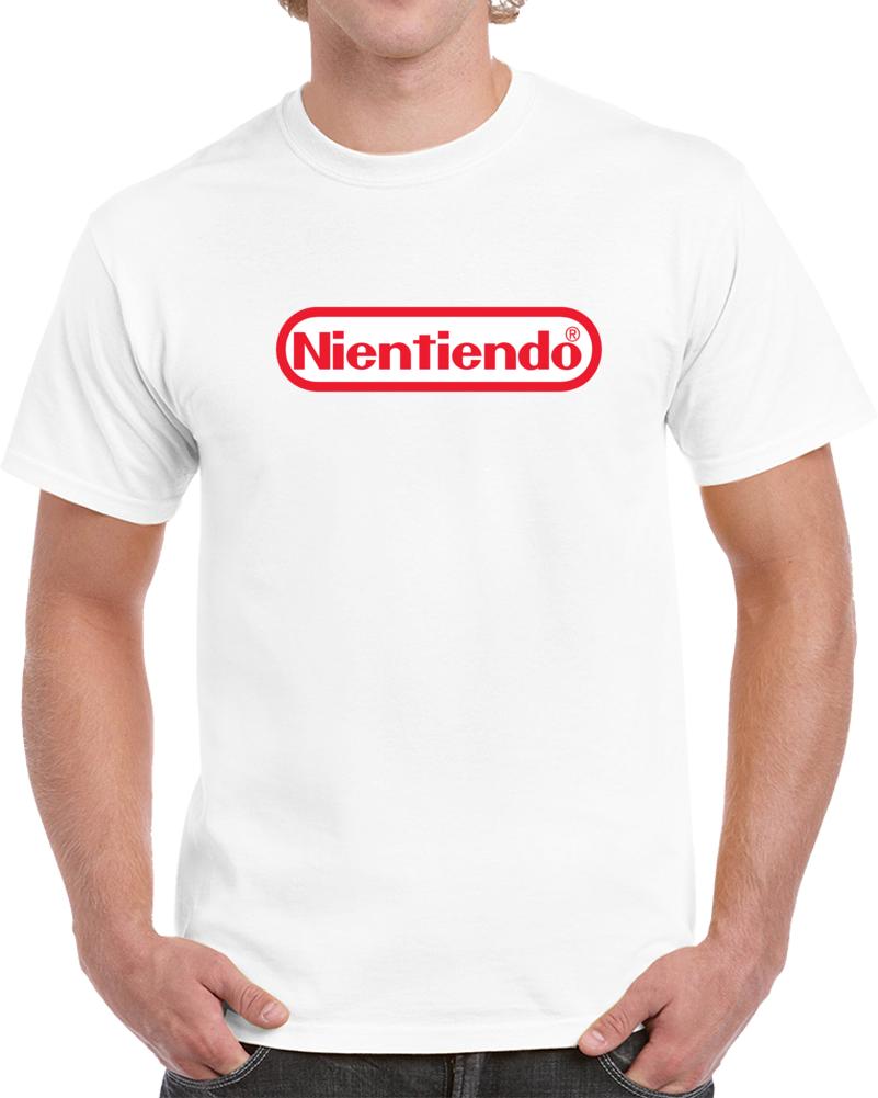 Nientiendo Nintendo Logo   T Shirt