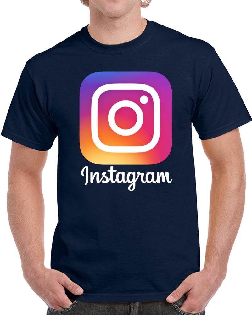 Instagram Logo T Shirt