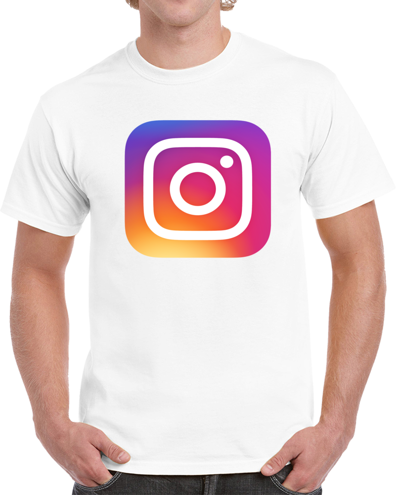 Instagram Logo T Shirt