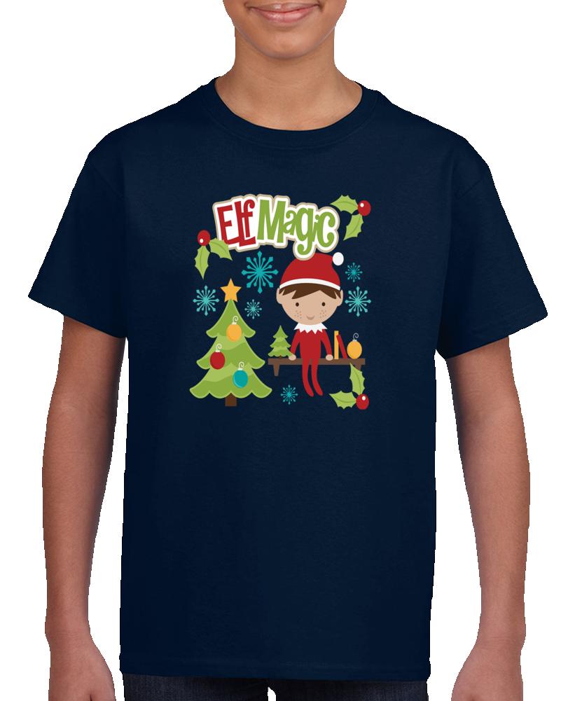 Elf Magic Christmas   T Shirt