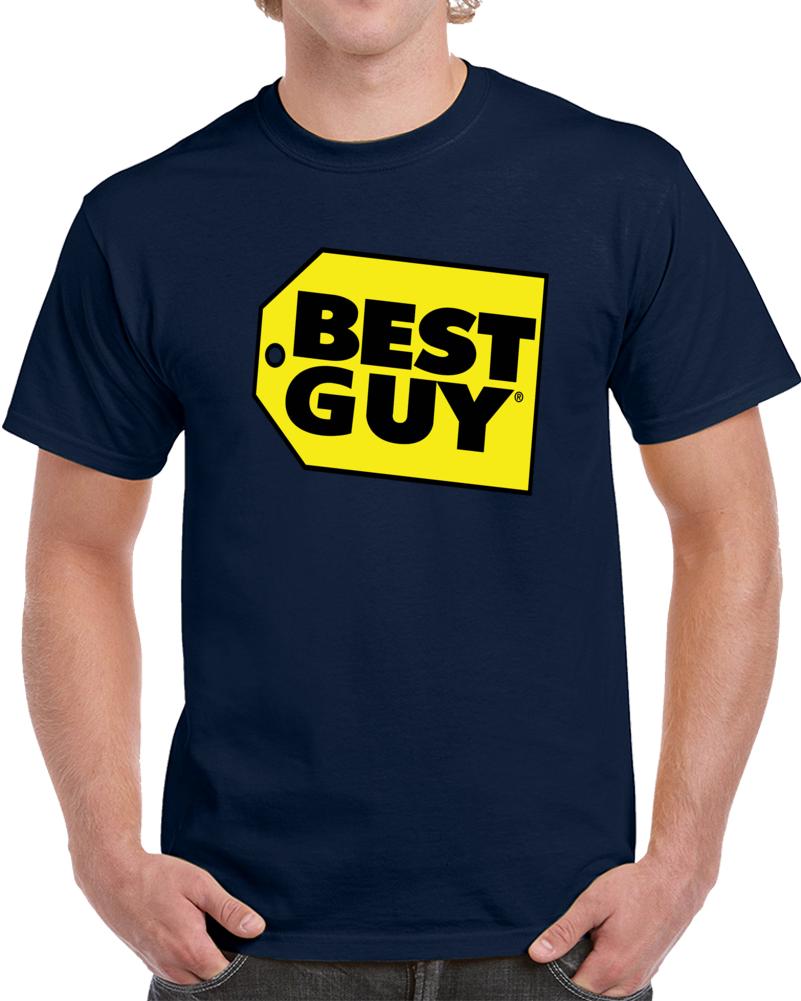 Best Guy Best Buy Logo   T Shirt