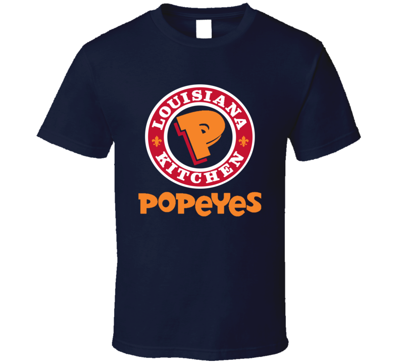 Louisiana Kitchen Popeyes Logo  T Shirt