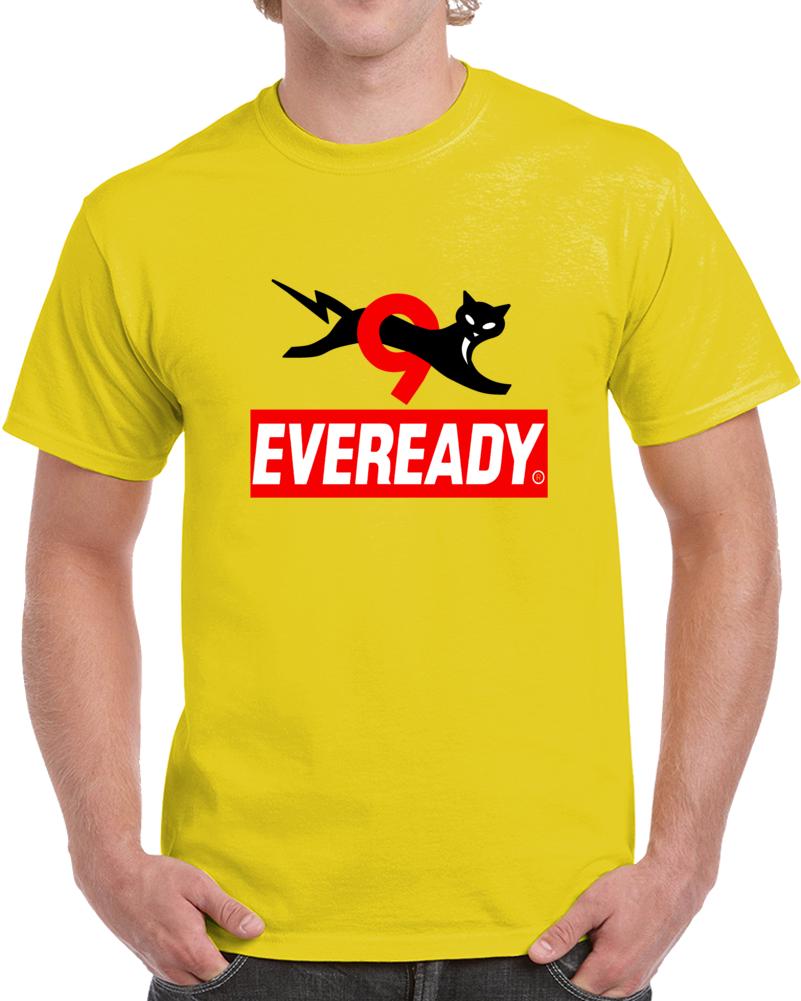 Eveready Battery Cat  T Shirt