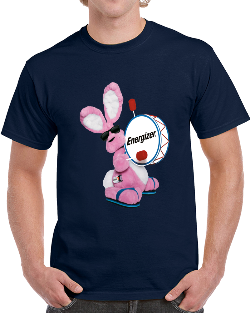 Energizer Bunny Battery Logo  T Shirt