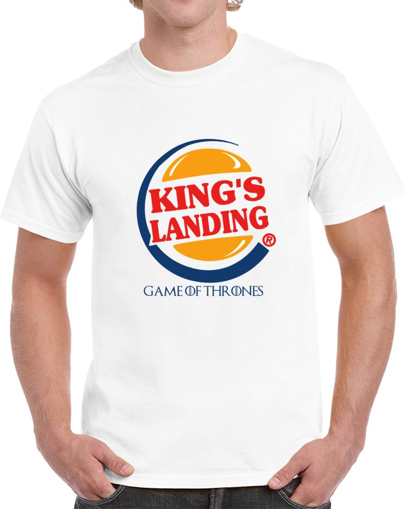 Kings Landing Game Of Thrones   T Shirt