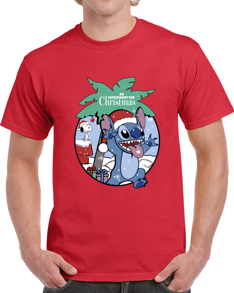 Lilo And Stitch Experiment For Christmas  T Shirt