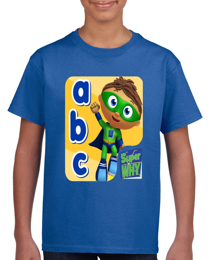 Abc Super Why   T Shirt