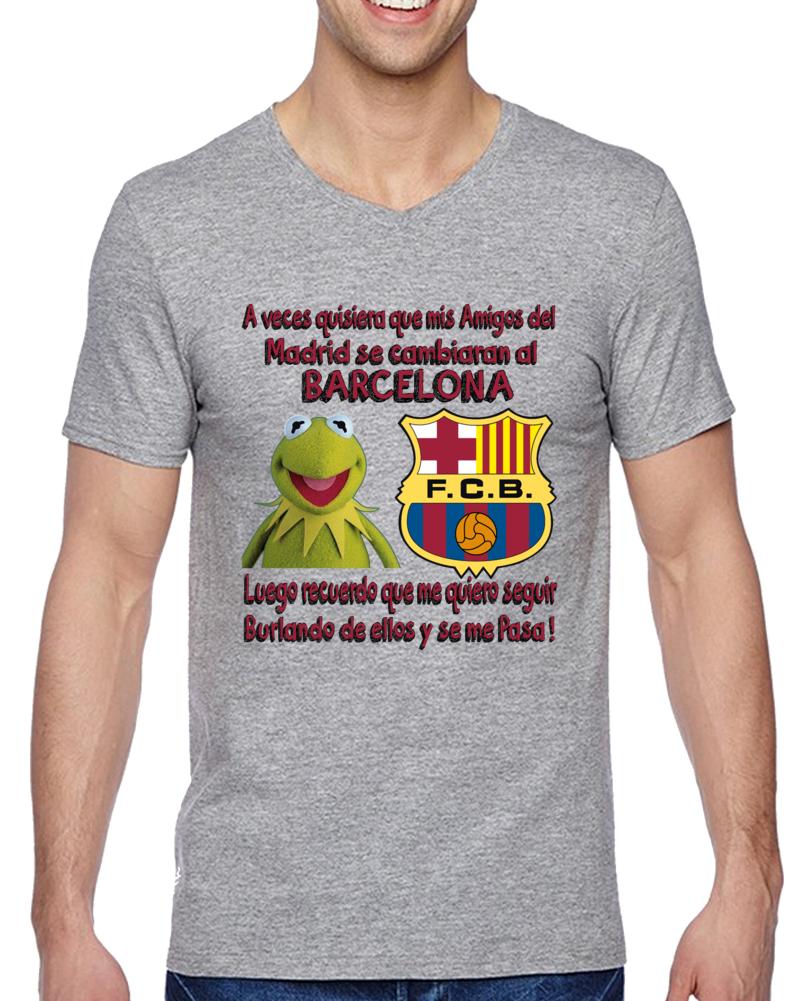 Rana Rene Memes A Veces Quisiera Que Mis Amigos Del Real Madrid Se Cambiaran Al Barcelona T Shirt