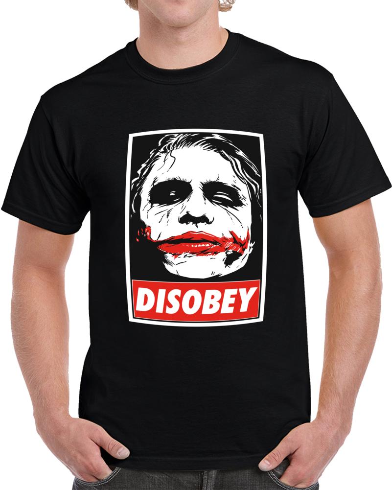 Joker Disobey  T Shirt