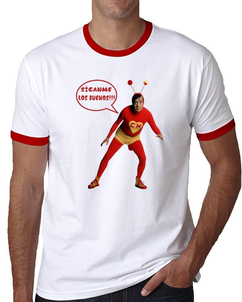 El Chapulin Colorado Siganme Los Buenos   T Shirt