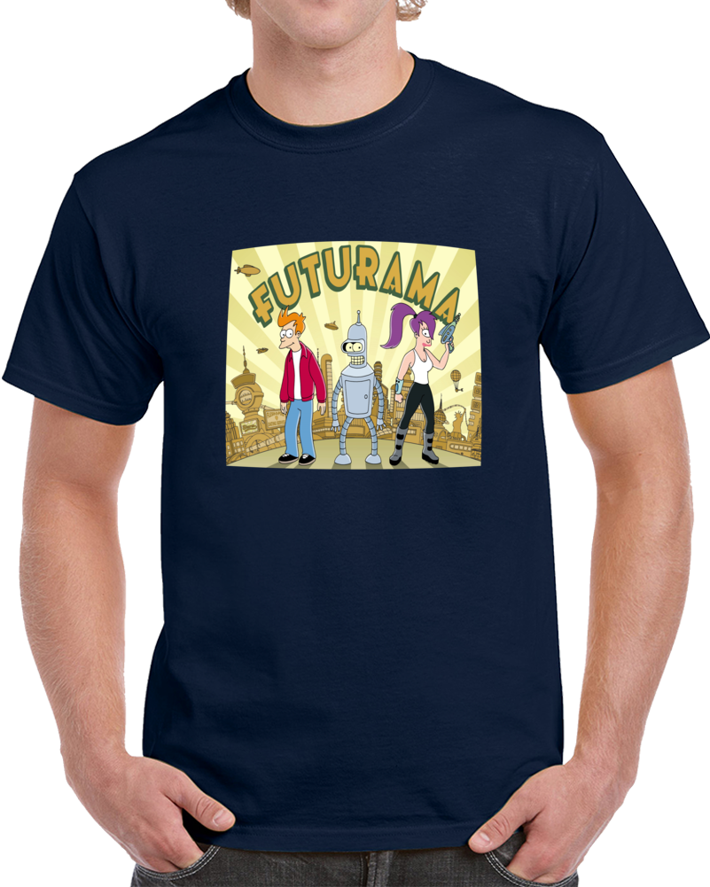 Futurama Main Characters   T Shirt