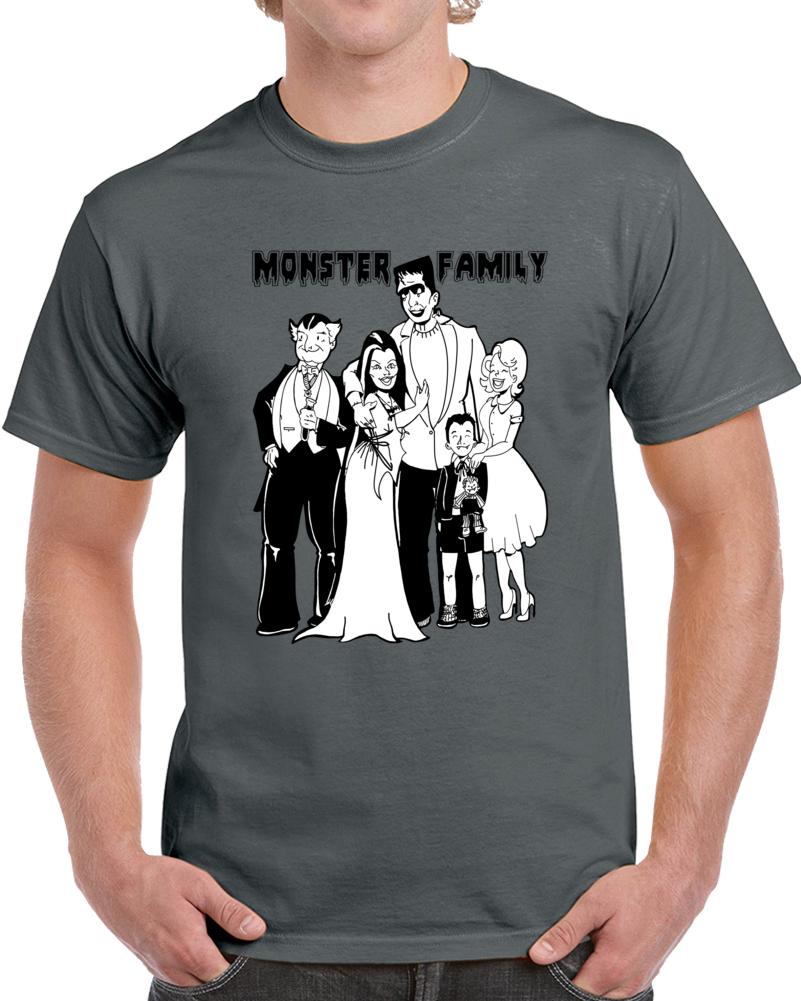 Monster Family T Shirt