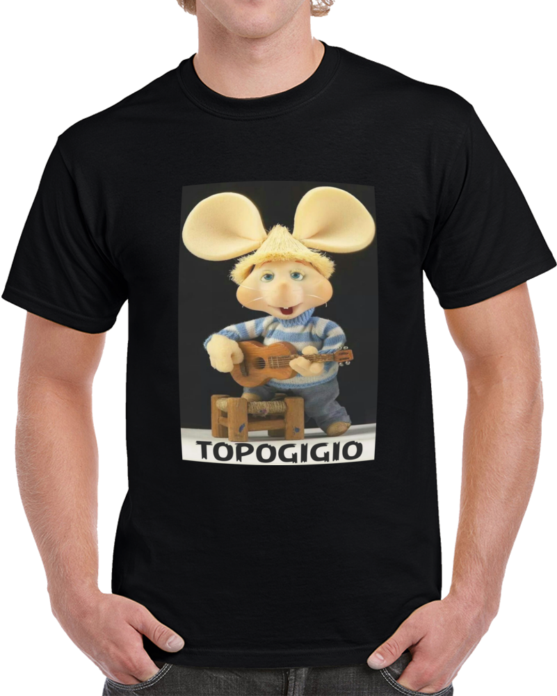 Topogigio Tocando La Guitarra   T Shirt