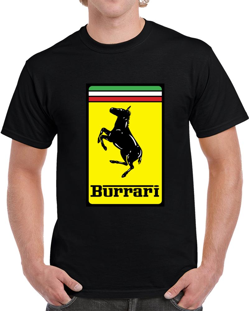 Burrari Ferrari Logo  T Shirt