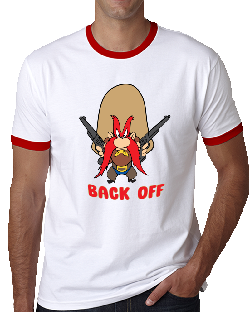 Yosemite Sam Back Off   T Shirt