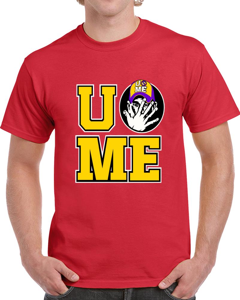 You Cant See Me Logo John Cena  T Shirt