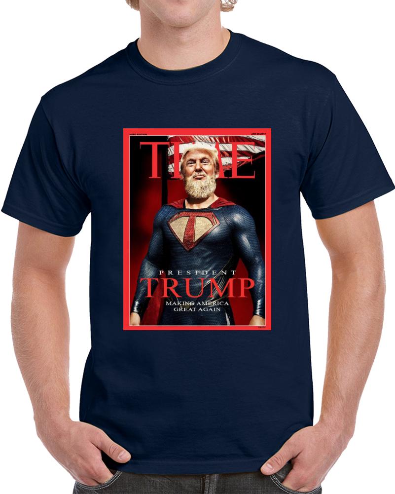 Time Donald Trump T Shirt