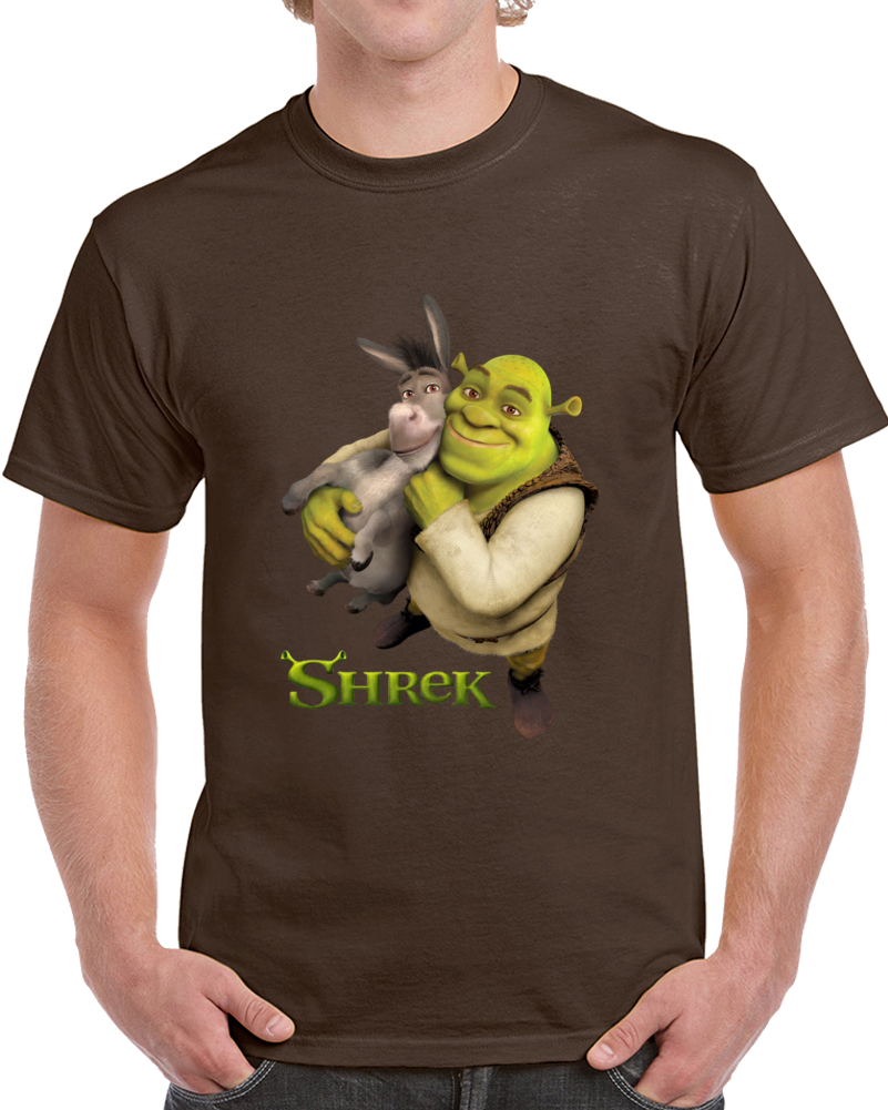 Shrek And Donky   T Shirt