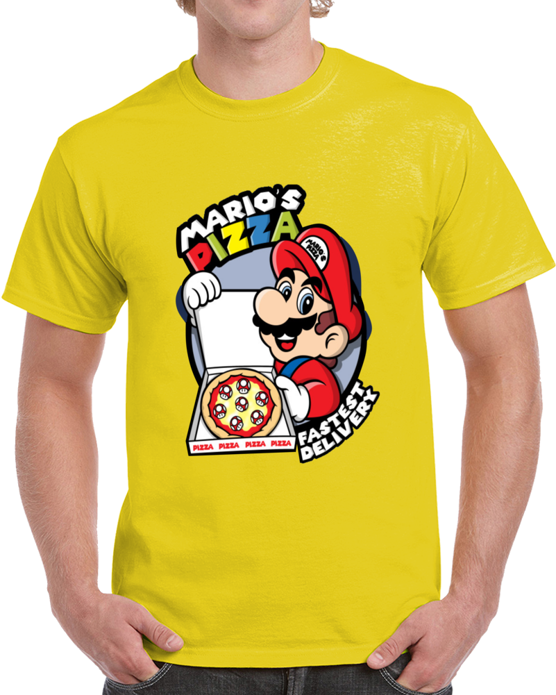 Marios Pizza Faster Delivery  T Shirt