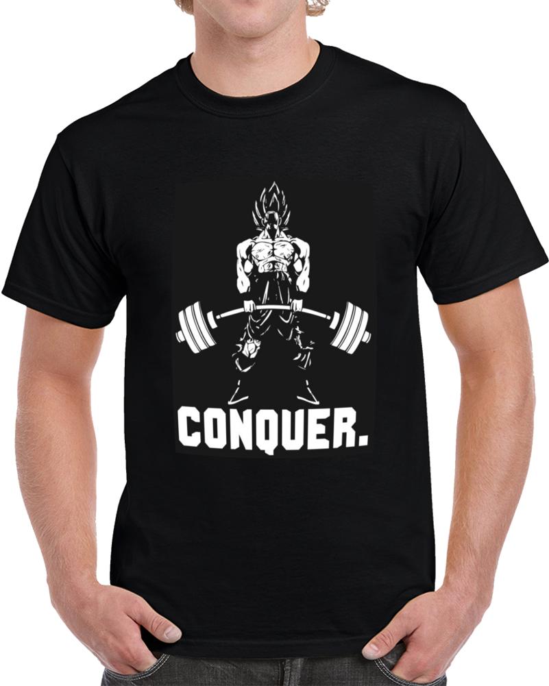 Conquer Super Saiyan  T Shirt