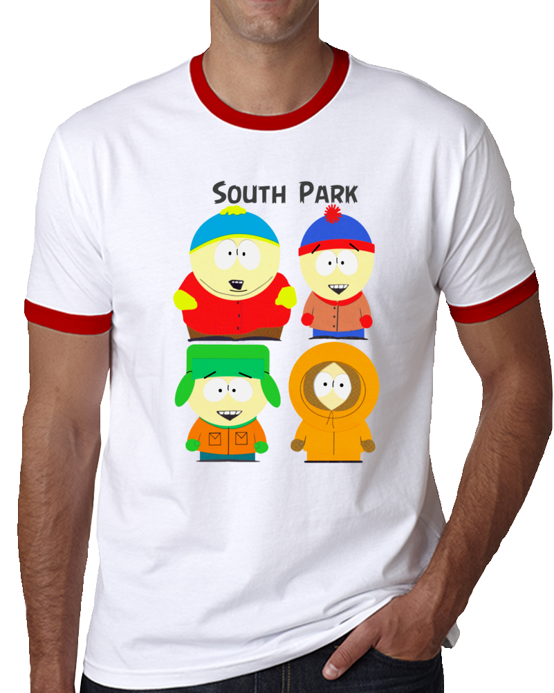South Park Characters   T Shirt