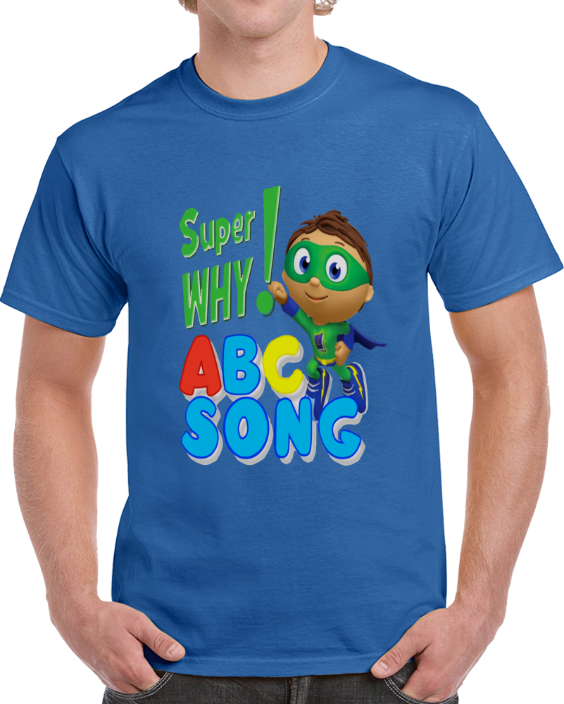 Super Why Abc Song  T Shirt