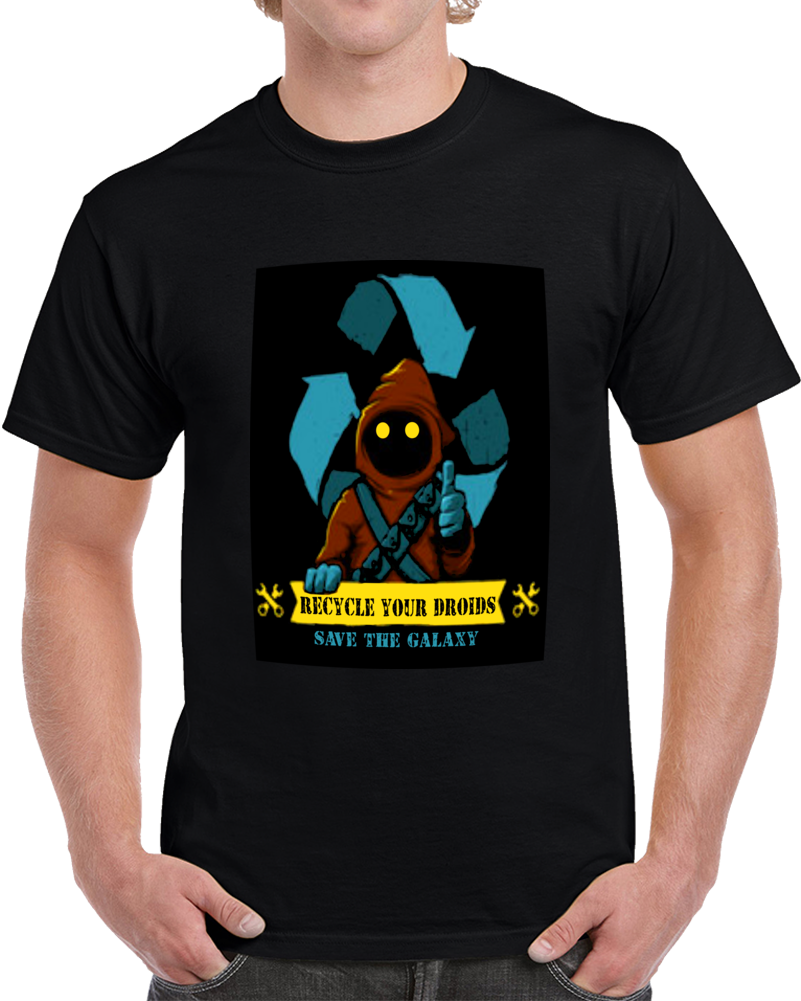 Recycle Save The Galaxy   T Shirt