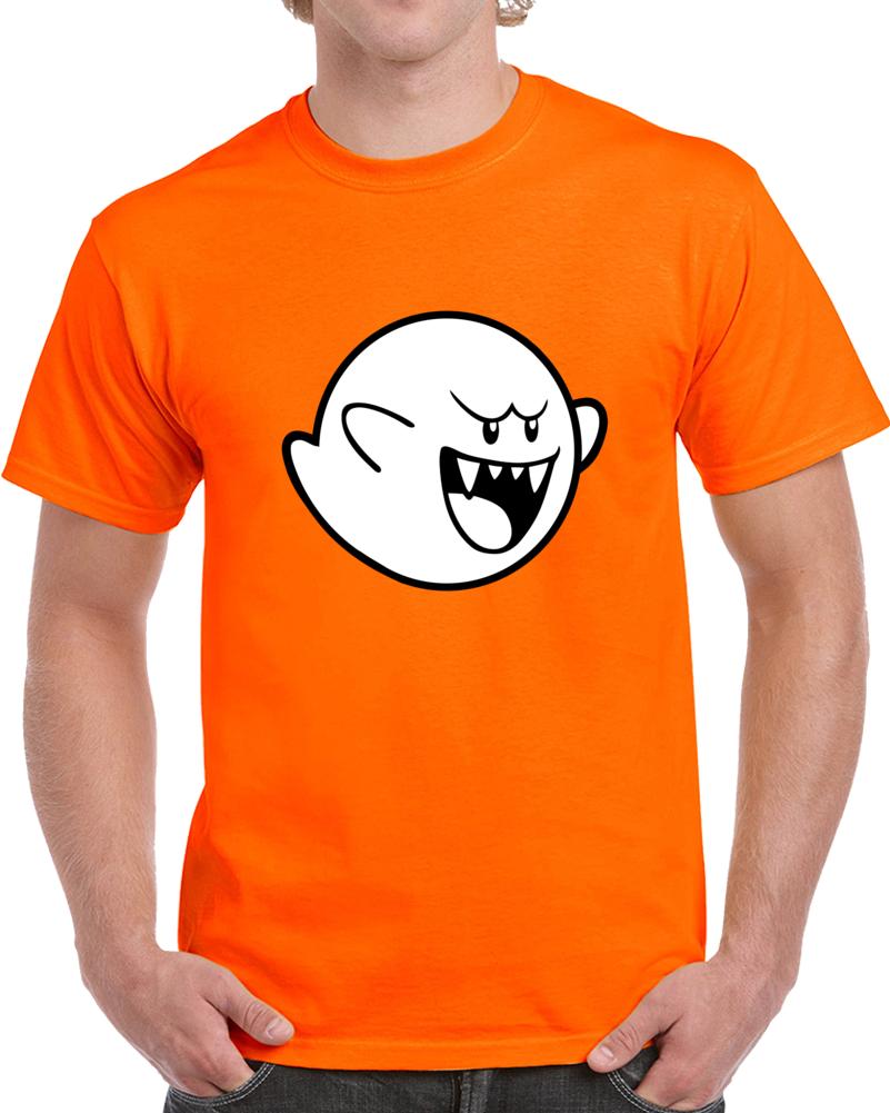 Big Boo Ghost Super Mario  T Shirt