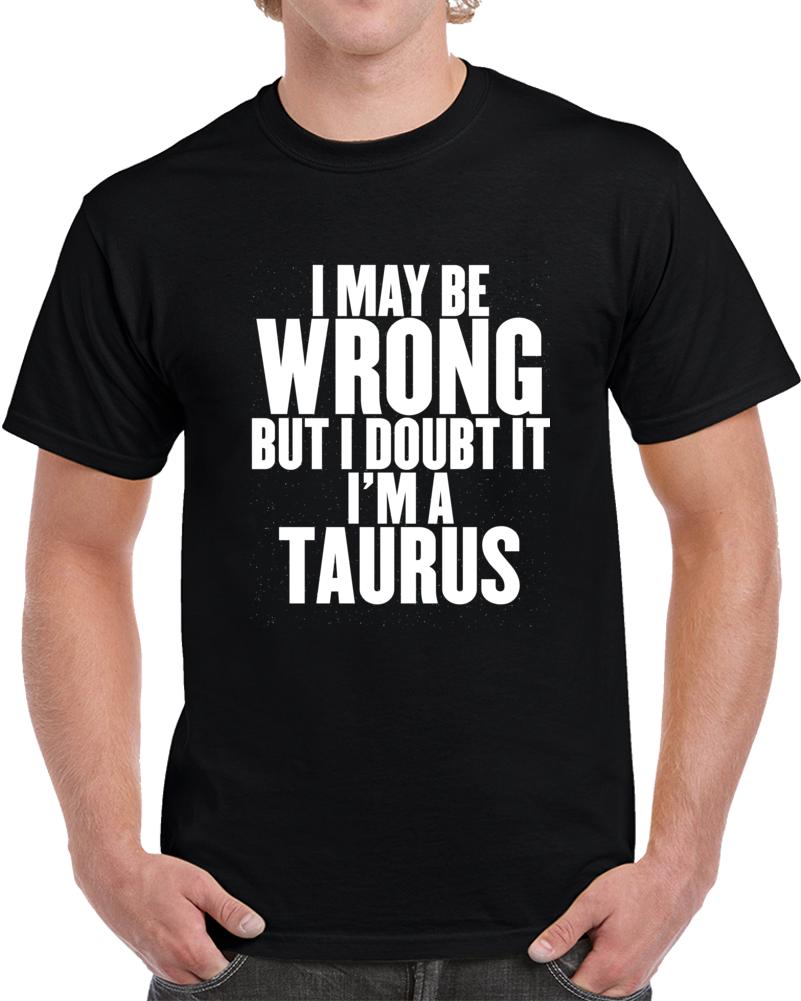 Zodiac Taurus T Shirt