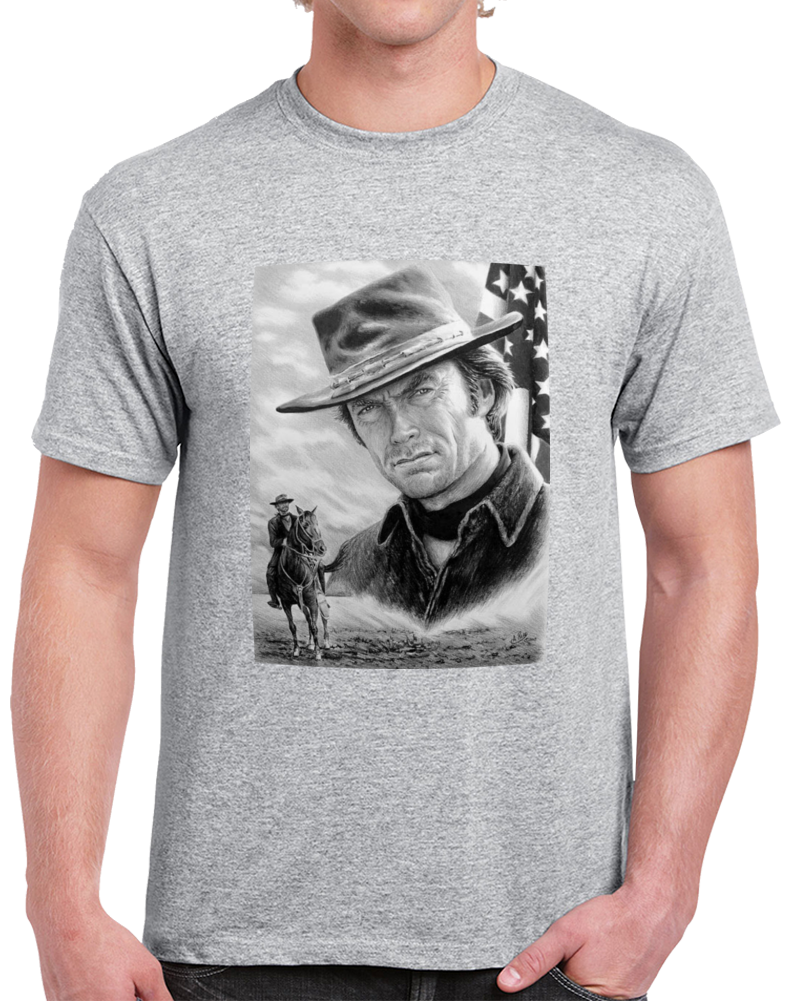 Clint Eastwood  T Shirt