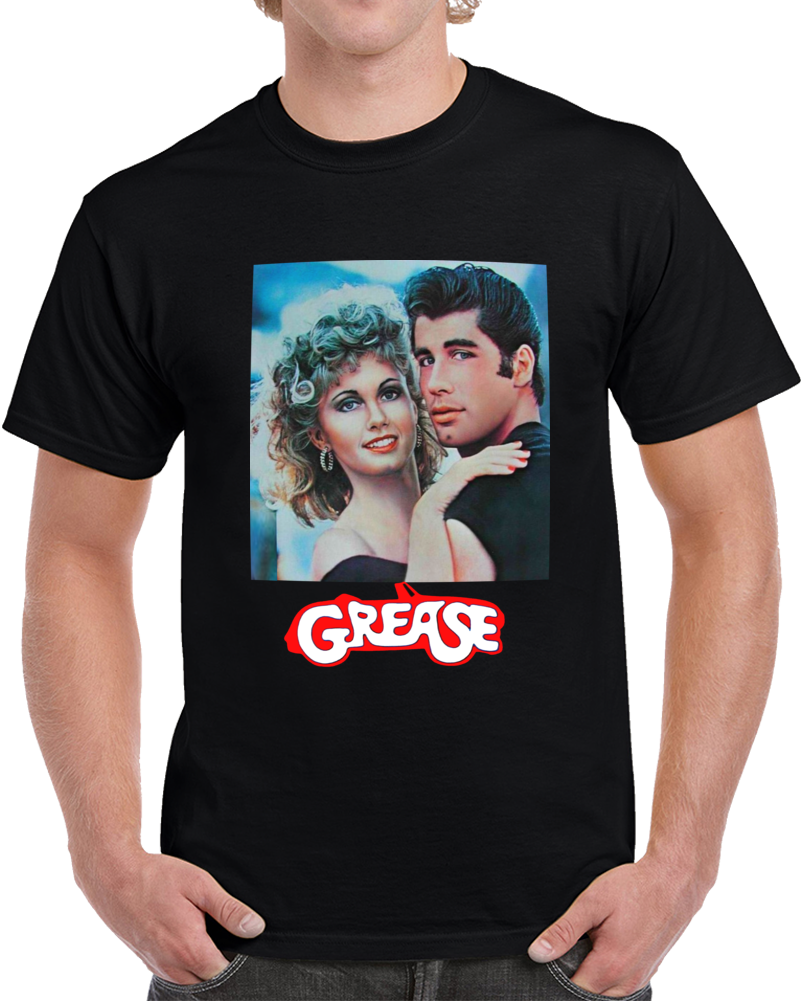 Danny & Sandy Grease The Movie  T Shirt