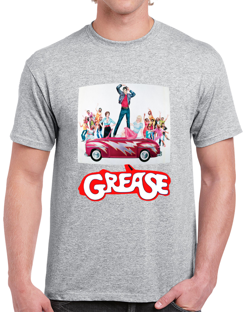 Grease The Movie All Characters. T Shirt