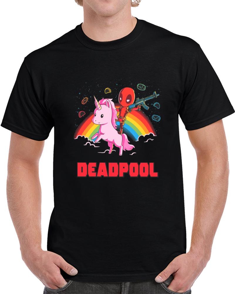 Deadpool Pony Epic T Shirt