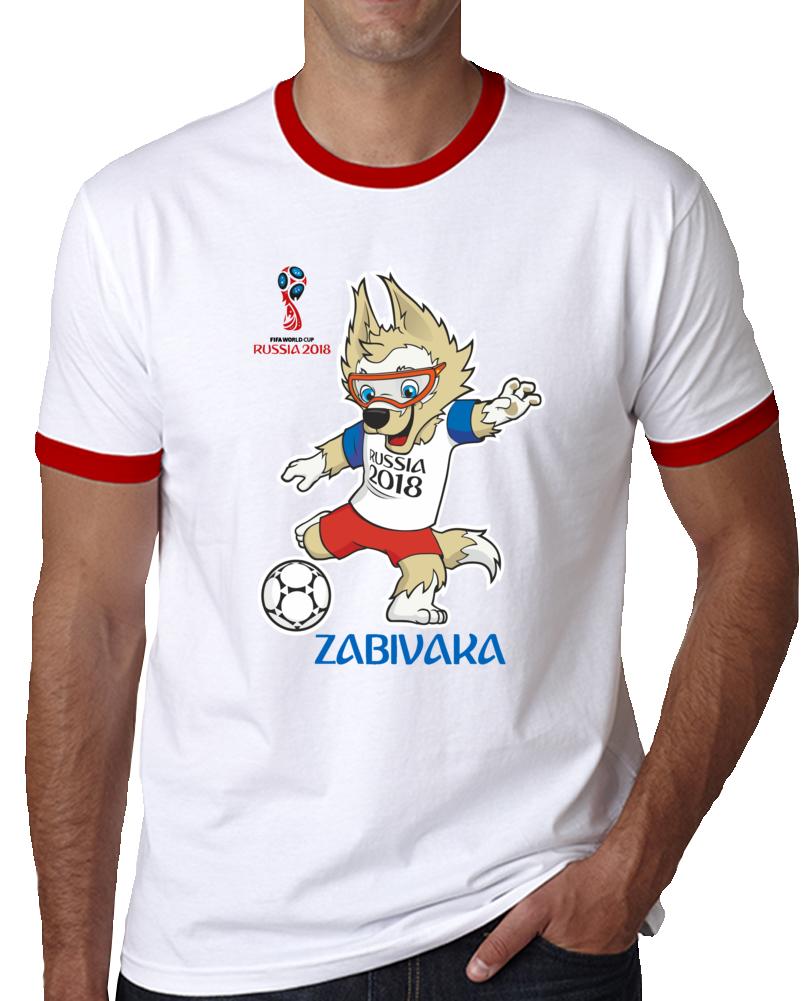 Zabivaka Pet Mascot Russia Fifa World Cup T Shirt