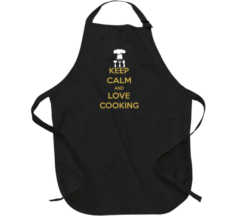 Keep Calm And Love Cooking  Apron