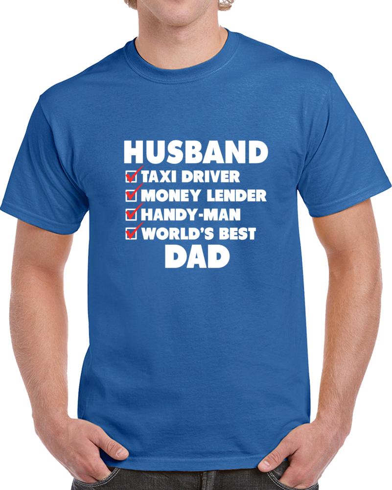 Husband Father Day  T Shirt