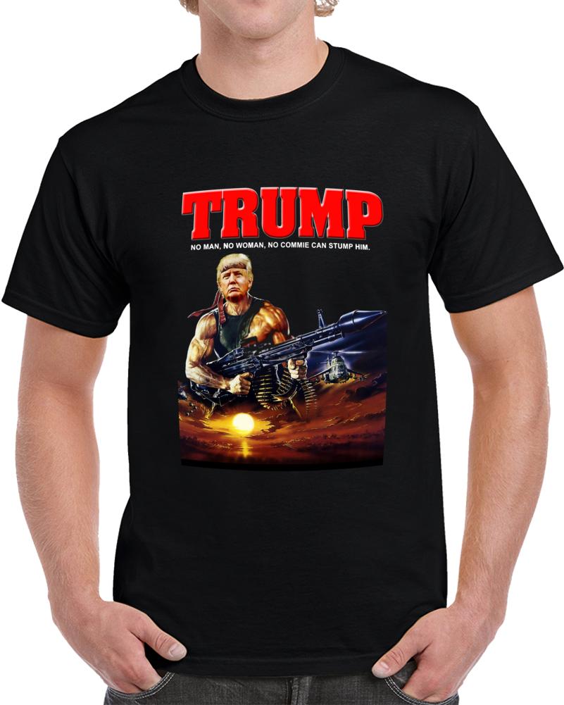 Donald Trump Rambo  T Shirt