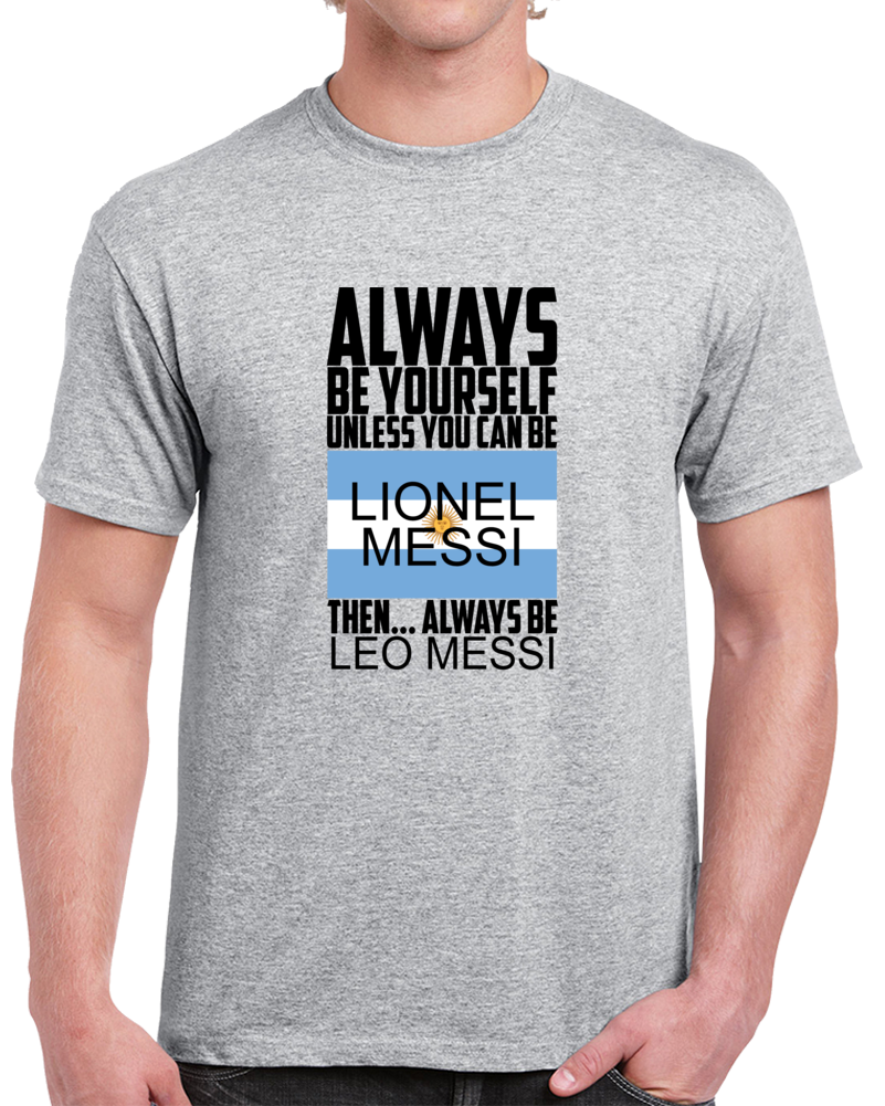 Leonel Messi Argentina Flag T Shirt