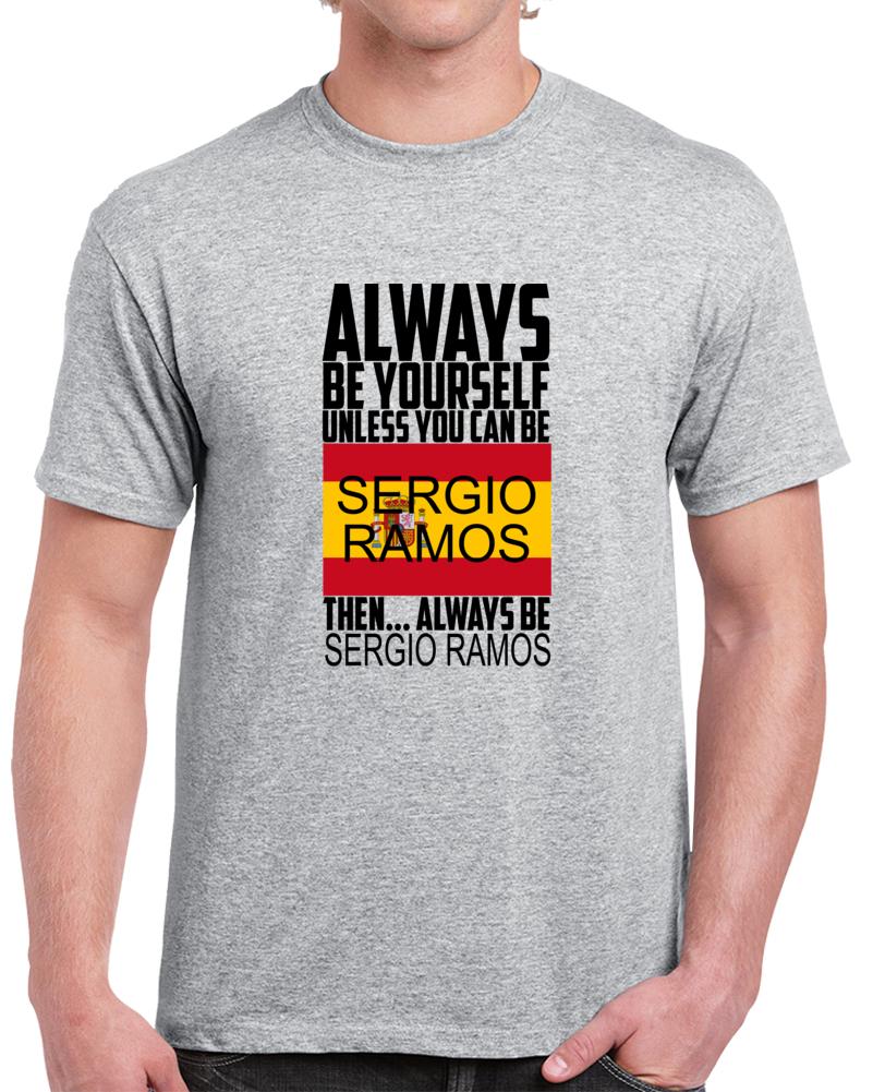 Sergio Ramos Spain Flag Bandera De Espana T Shirt