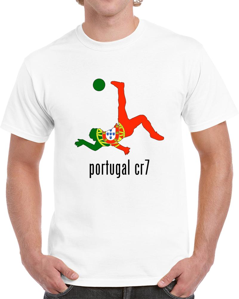 Portugal Soccer Player Cr7 T Shirt