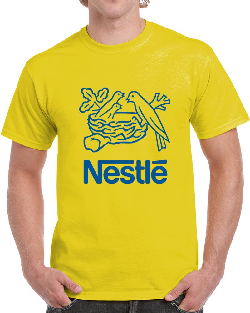 Nestle Bird Logo T Shirt