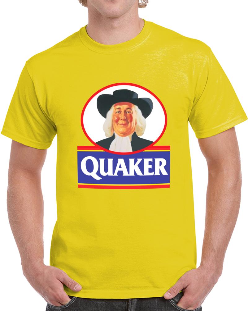 Quaker Logo T Shirt