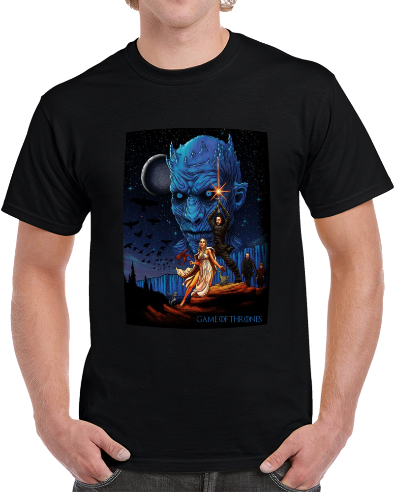 Game Of Thrones Star Wars  T Shirt