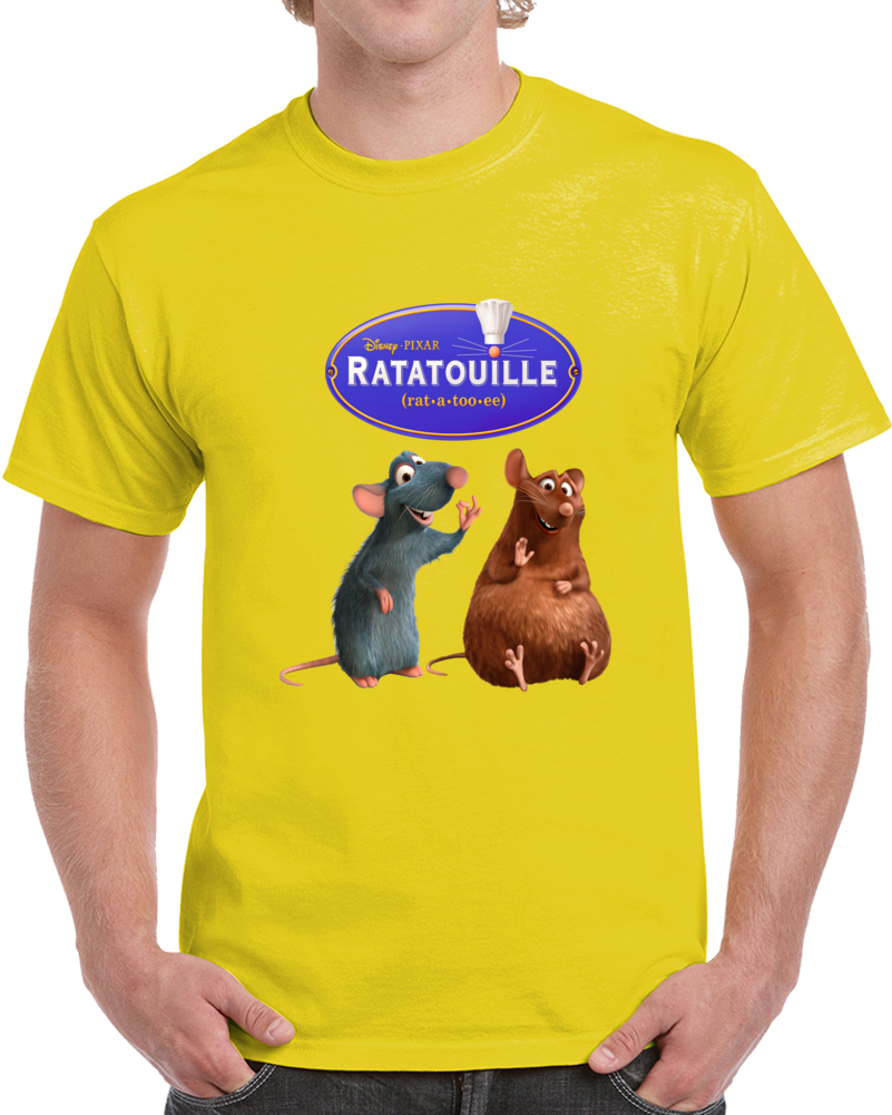 Ratatouille Remy And Emile  T Shirt