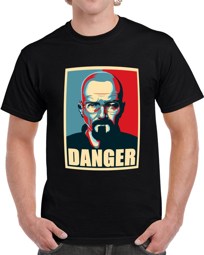 Danger Breaking Bad T Shirt